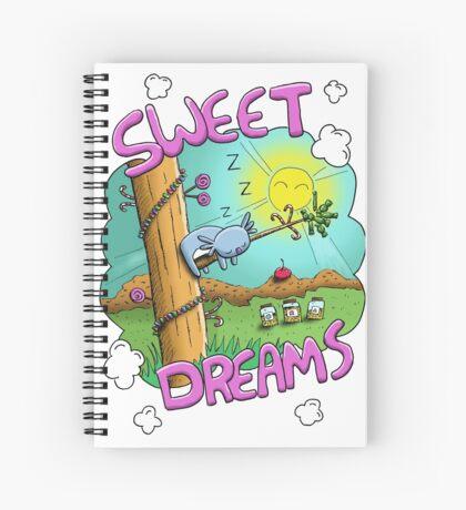 Sweet Dreams - Cute Sleeping Koala Spiral Notebook