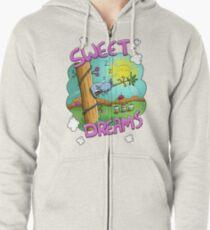 Sweet Dreams - Cute Sleeping Koala Zipped Hoodie