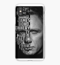 James Bond Poster iPhone Case