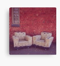where the lonely go to rest Canvas Print