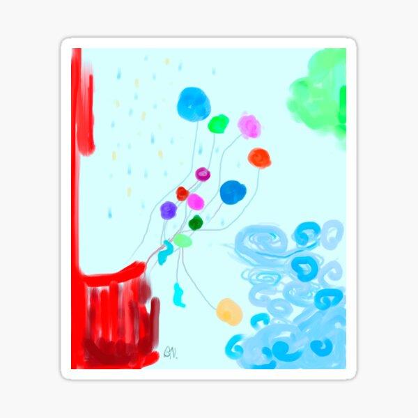 Balloon Blues Sticker