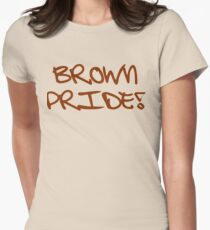 Brown Pride Women's Fitted T-Shirt
