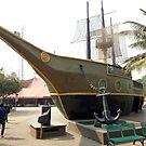 Ship shaped restaurant by Mahesh Kumar