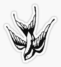 Shawn Mendes Bird Tattoo Sticker