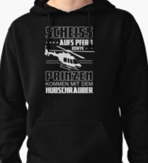 Helicopter pilot Pullover Hoodie