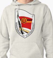Stasi Ministry State Security - GDR DDR East Germany  Pullover Hoodie