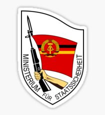 Stasi Ministry State Security - GDR DDR East Germany  Sticker
