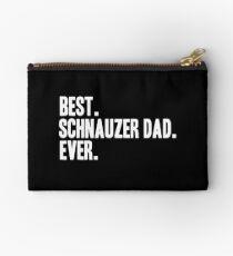 Schnauzer Shirt Dad Funny Pet Schnauzer T-Shirt Clothing Art Print Studio Pouch