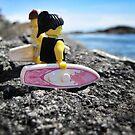 Surf's Up! (3 of 3) by bricksailboat