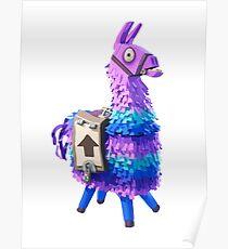 Fortnite llama posters redbubble - Lama pictures fortnite ...