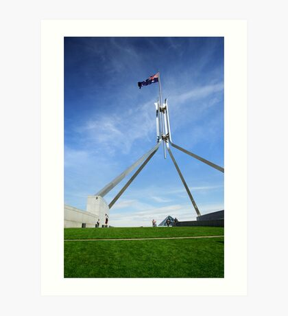 Parliament House - Canberra Art Print