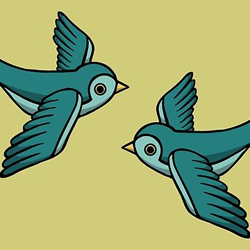 Blue Swallow by WildSally