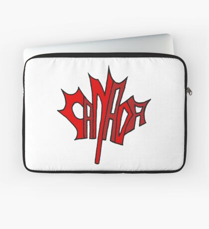 Canadian Maple Leaf Laptop Sleeve