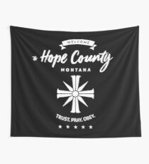 Welcome To Hope County Wall Tapestry