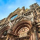 Cathedral of Siena Italy by J Jennelle