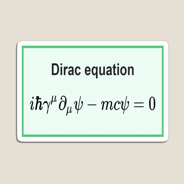 Dirac equation #Dirac #equation #DiracEquation #Physics Magnet