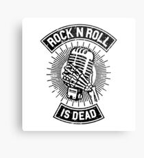 Rock and Roll is Dead Metal Print
