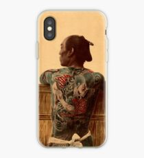 Japanese tattoo iPhone Case