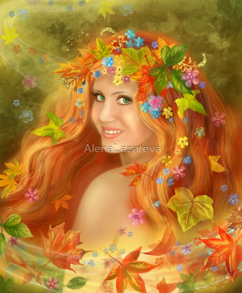Autumn by Alena Lazareva