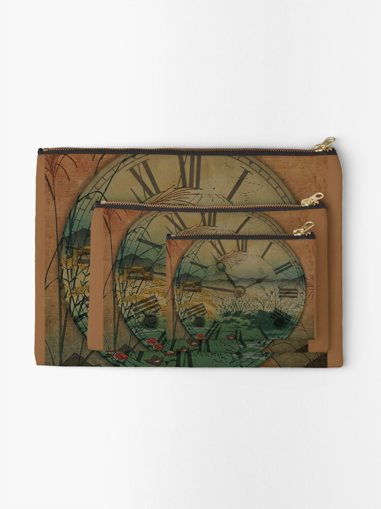 Alternate view of Behind Time Zipper Pouch