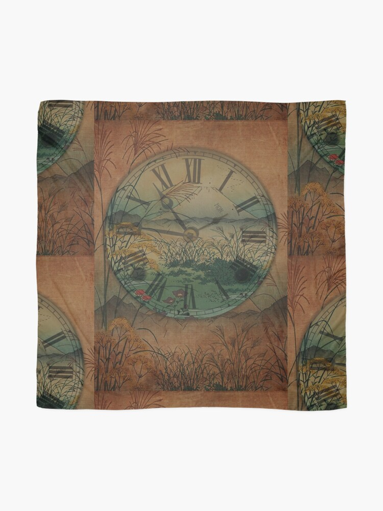 Alternate view of Behind Time Scarf