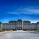Belvedere Palace Vienna by Christian  Zammit