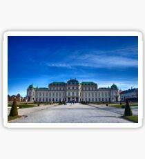 Belvedere Palace Vienna Sticker