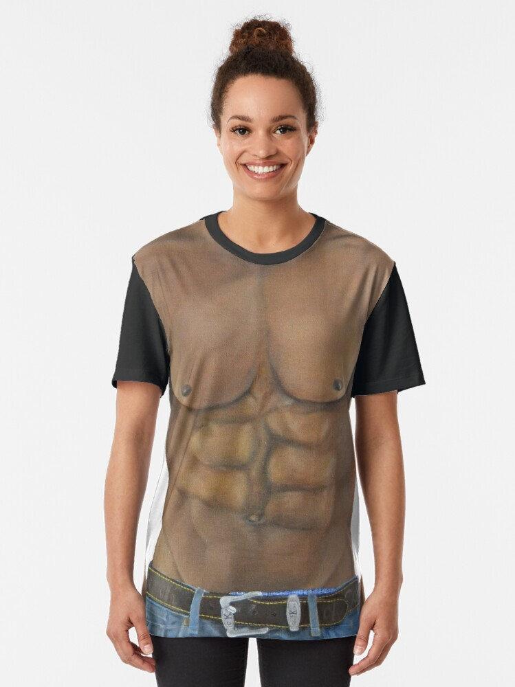 Alternate view of Six pack Graphic T-Shirt