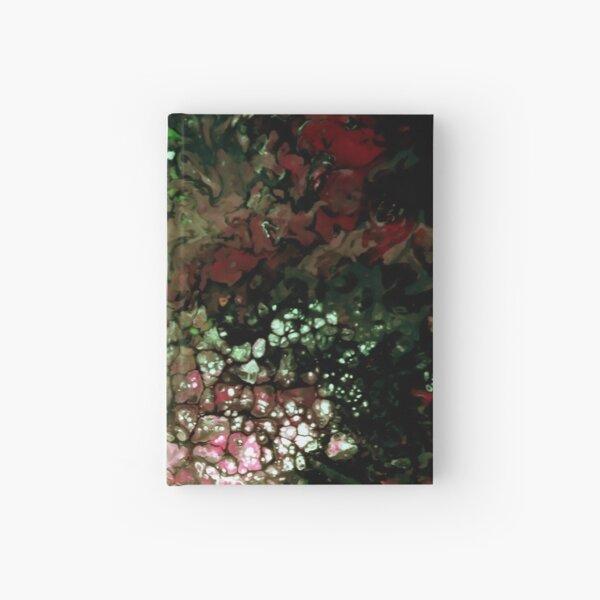 Zellenmuster: Green Patterns Notizbuch