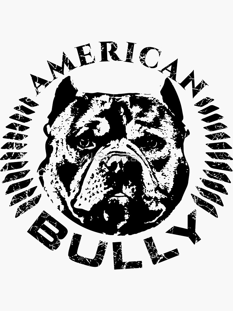 American Bully Lives Matter Sticker k188 6 inch uncropped dog decal