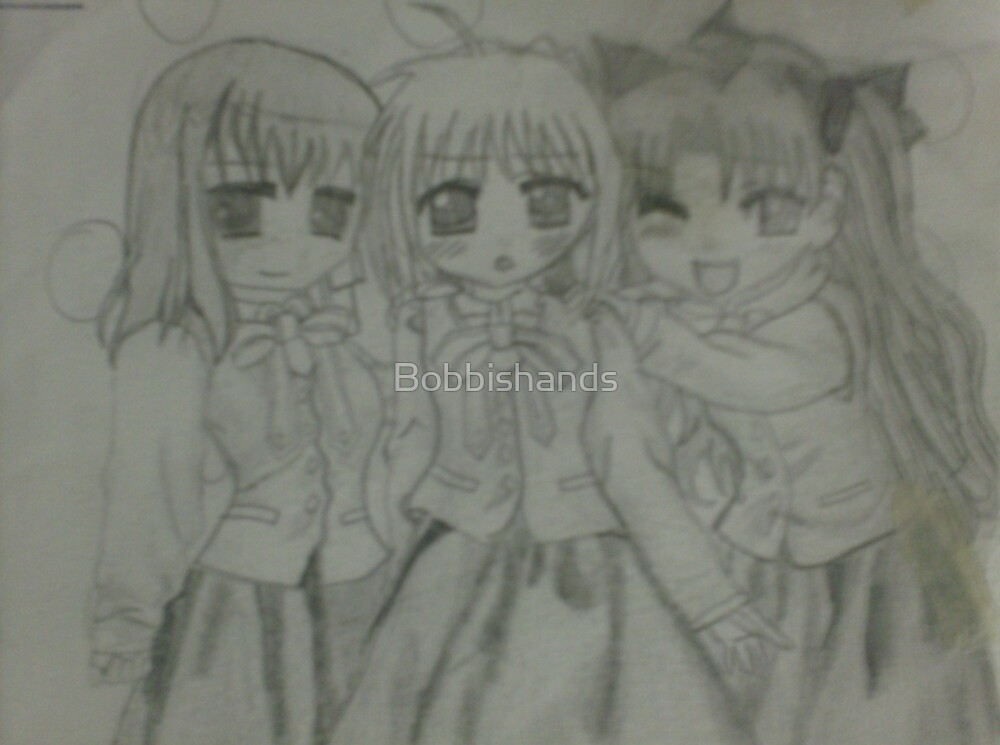 Us-me and my sisters by Bobbishands