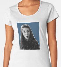 Annie Edison - Dark Blue Women's Premium T-Shirt