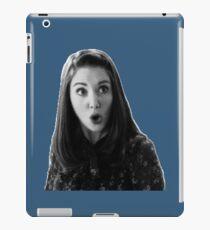 Annie Edison - Dark Blue iPad Case/Skin