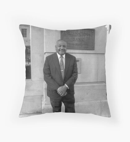 Carl T Rowan 1925-2000 Throw Pillow