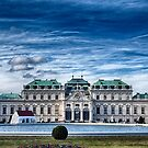 The Belvedere Palace - Vienna by Christian  Zammit