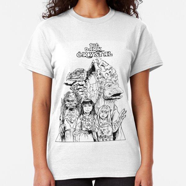 The Dark Crystal - Gelflings, Skeksis, and Mystics Classic T-Shirt