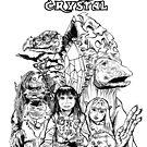 The Dark Crystal - Gelflings, Skeksis, and Mystics by moonwalkerwiz