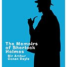 The Memoirs of Sherlock Holmes Book Cover by Ian Fox