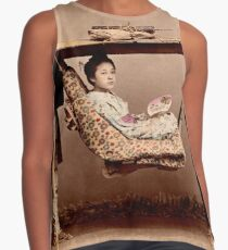 Japanese Kago, travelling chair Contrast Tank