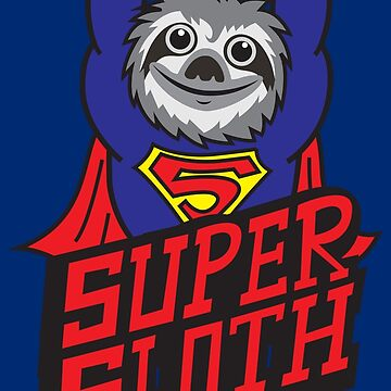 Super Sloth by plushism