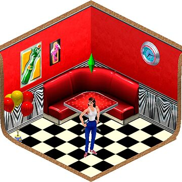 The Sims 1 - DollhouseSeries (Diner) by sample-text