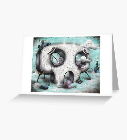 Channel Zero Greeting Card