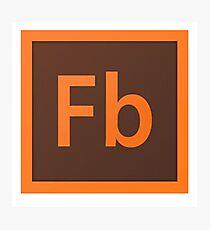 Flash Builder Logo Photographic Print