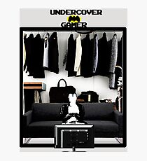 Undercover Gamer Photographic Print