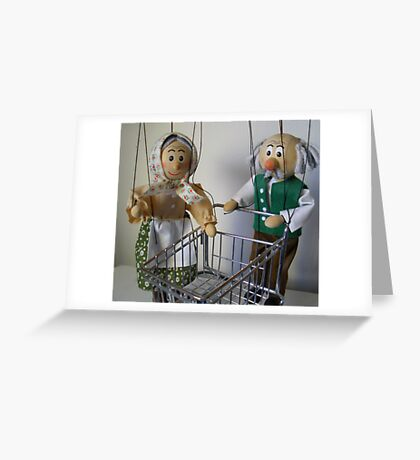 Stop complaining and push! Greeting Card