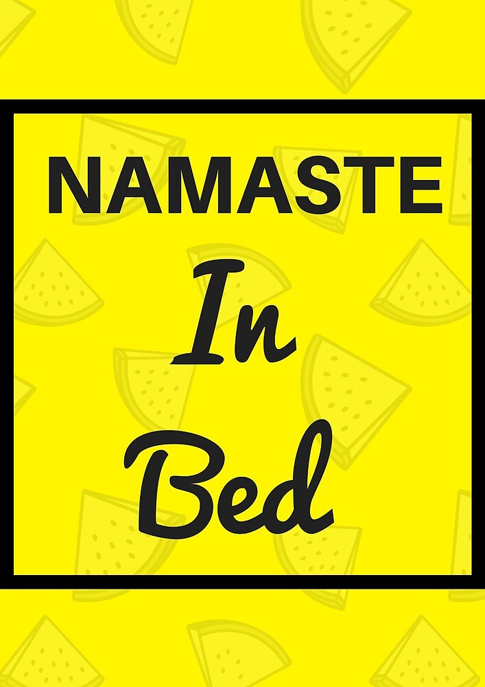 namaste in bed by MallsD