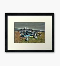 Ford Tractor Framed Print