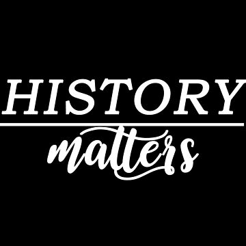 history matters white  by culturetime