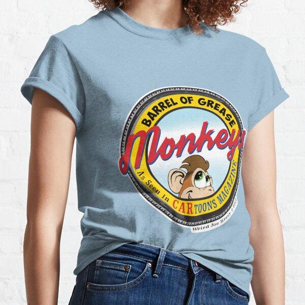 Grease Monkey Retro Tire Logo Classic T-Shirt