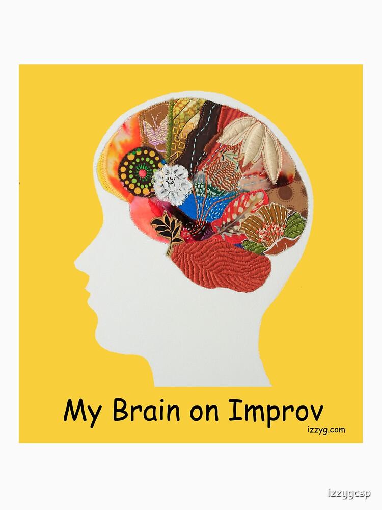 My Brain on Improv by izzygcsp